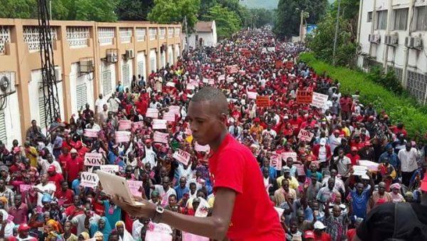 Marche du 15 juillet a Bamako contre la revision constitutionnelle